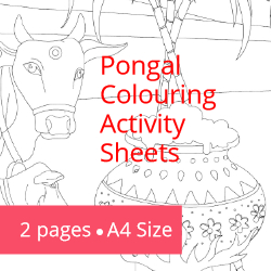 Pongal - Coluring Activities