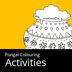 Pongal Colouring Activities