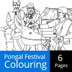 Pongal Festival - Colouring Activities